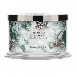 Homeworx by Harry Slatkin Frozen Balsam 4 Wick Candle