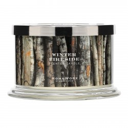 Homeworx by Harry Slatkin Winter Fireside 4 Wick Candle