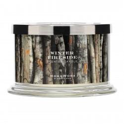 Homeworx by Harry Slatkin Winter Fireside 4 Wick Candle