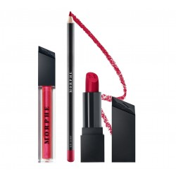 Morphe Out & A Pout Candy Red Lip Trio