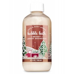 Bath & Body Works Bright Lemon Snowdrop Bubble Bath