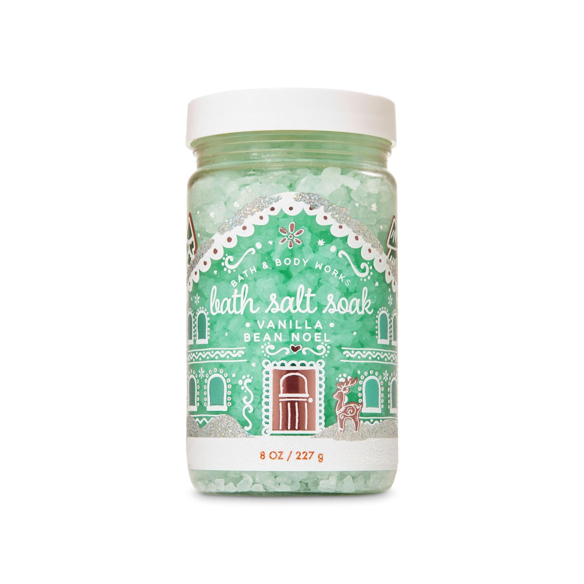 Bath & Body Works Vanilla Bean Noel Bath Salt Soak