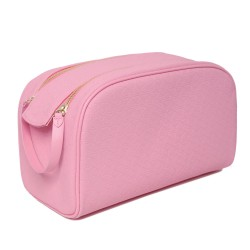 Jeffree Star Cosmetics x Shane Double Zip Makeup Bag Pink