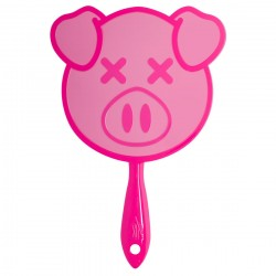Jeffree Star Cosmetics x Shane Pig Hand Mirror Pink