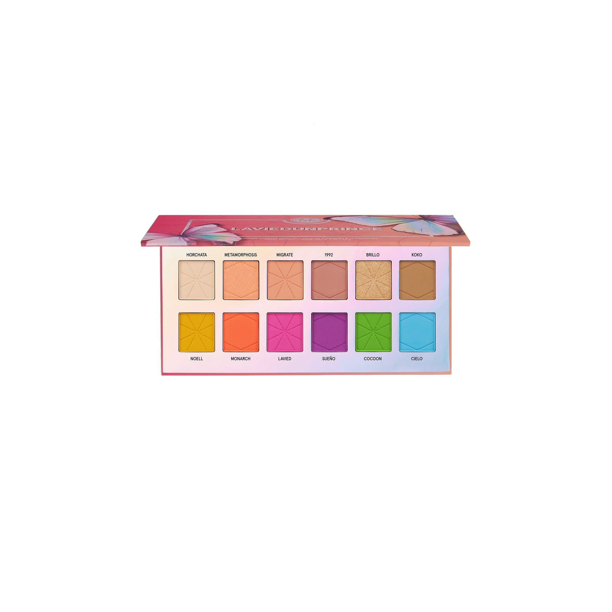 BH Cosmetics Laviedunprince 12 Color Shadow Palette