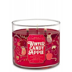 Bath & Body Works Winter Candy Apple 3 Wick Scented Candle