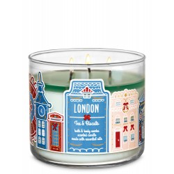 Bath & Body Works London Tea & Biscuits 3 Wick Scented Candle