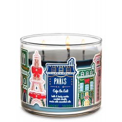 Bath & Body Works Café Au Lait 3 Wick Scented Candle