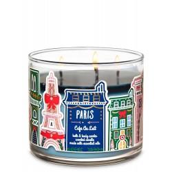 Bath & Body Works Paris Café Au Lait 3 Wick Scented Candle