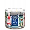 Bath & Body Works Café Au Lait 3 Wick Scented Candle
