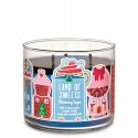 Bath & Body Works Land Of Sweets Blueberry Sugar 3 Wick Scented Candle
