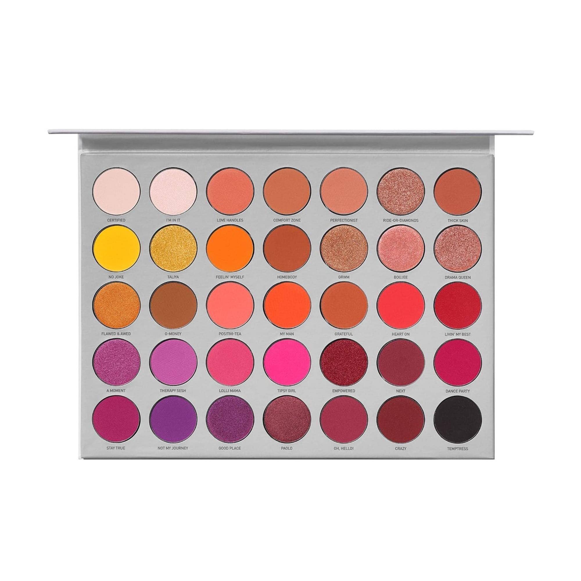 Morphe Brushes x Jaclyn Hill Eyeshadow Palette Volume II