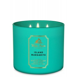 Bath & Body Works White Barn Island Margarita 3 Wick Scented Candle