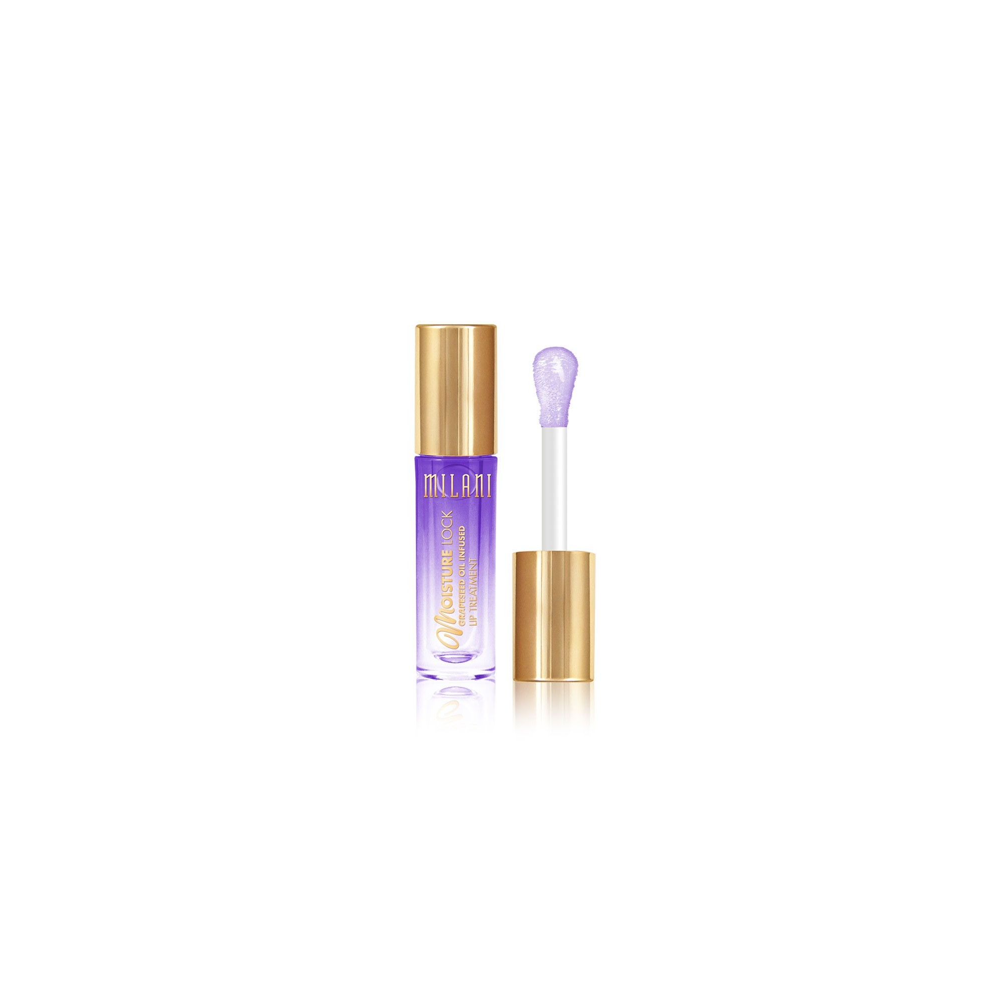 Milani Moisture Lock Oil Infused Lip Treatment Conditioning Grapeseed