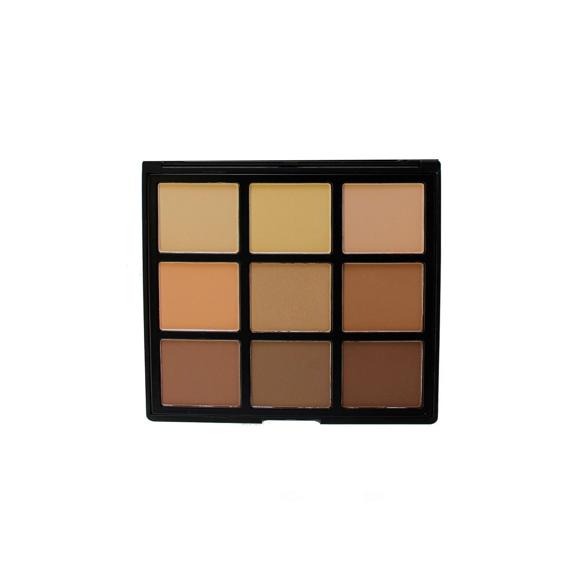 Morphe 9C 9 Colour Highlight Contour Palette