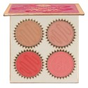 BH Cosmetics Truffle Blush 4 Color Blush Palette Chocolate Cherry