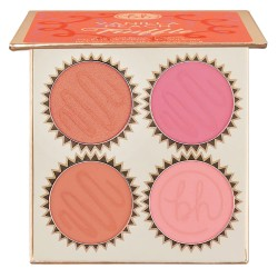 BH Cosmetics Truffle Blush 4 Color Blush Palette Vanilla Cream
