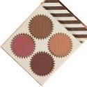 BH Cosmetics Truffle Blush 4 Color Blush Palette Chocolate Marshmallow