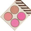 BH Cosmetics Truffle Blush 4 Color Blush Palette Vanilla Strawberry
