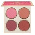 BH Cosmetics Truffle Blush 4 Color Blush Palette Vanilla Cherry
