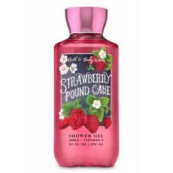 Bath & Body Works Strawberry Pound Cake Shower Gel