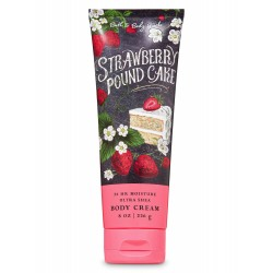 Bath & Body Works Strawberry Pound Cake Ultra Shea Body Cream
