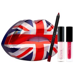 Huda Beauty Union Jack Lip Set