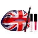 Huda Beauty Union Jack Lip Set