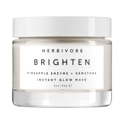 Herbivore Brighten Pineapple Enzyme + Gemstone Instant Glow Mask