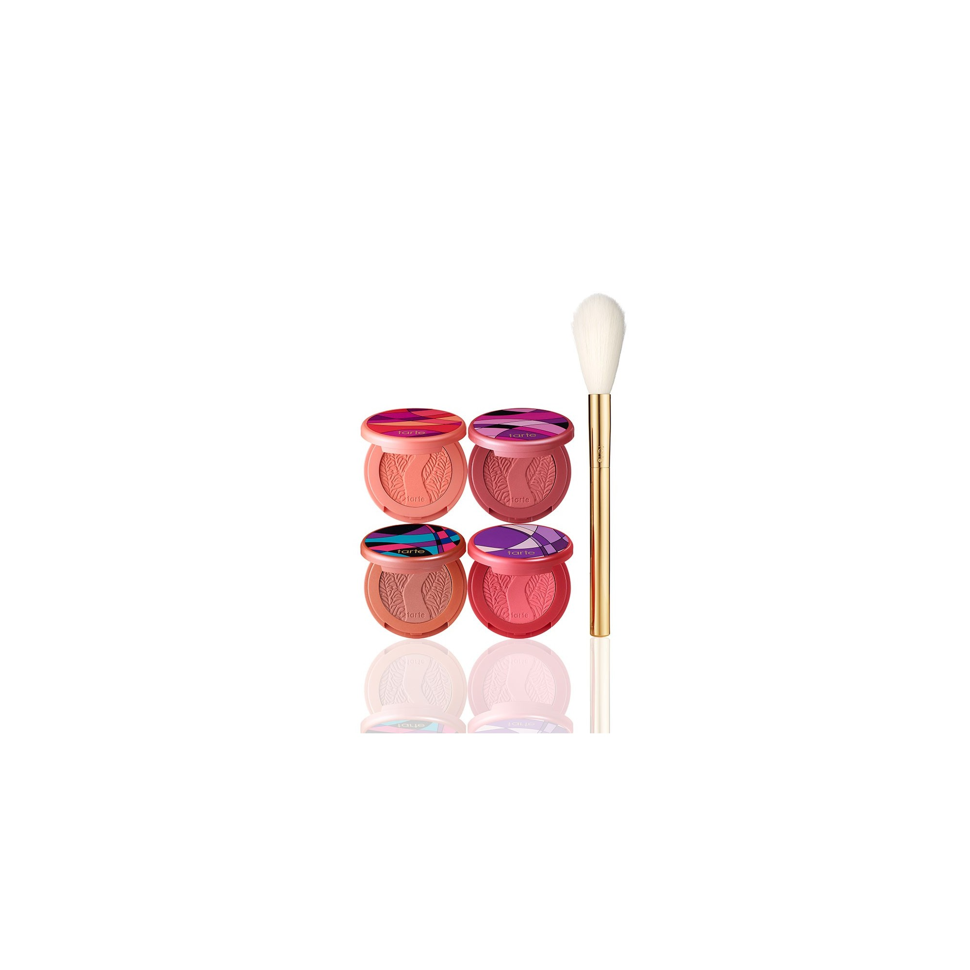 Tarte Sculpted Cheeks Deluxe Amazonian Clay Blush Set & Brush