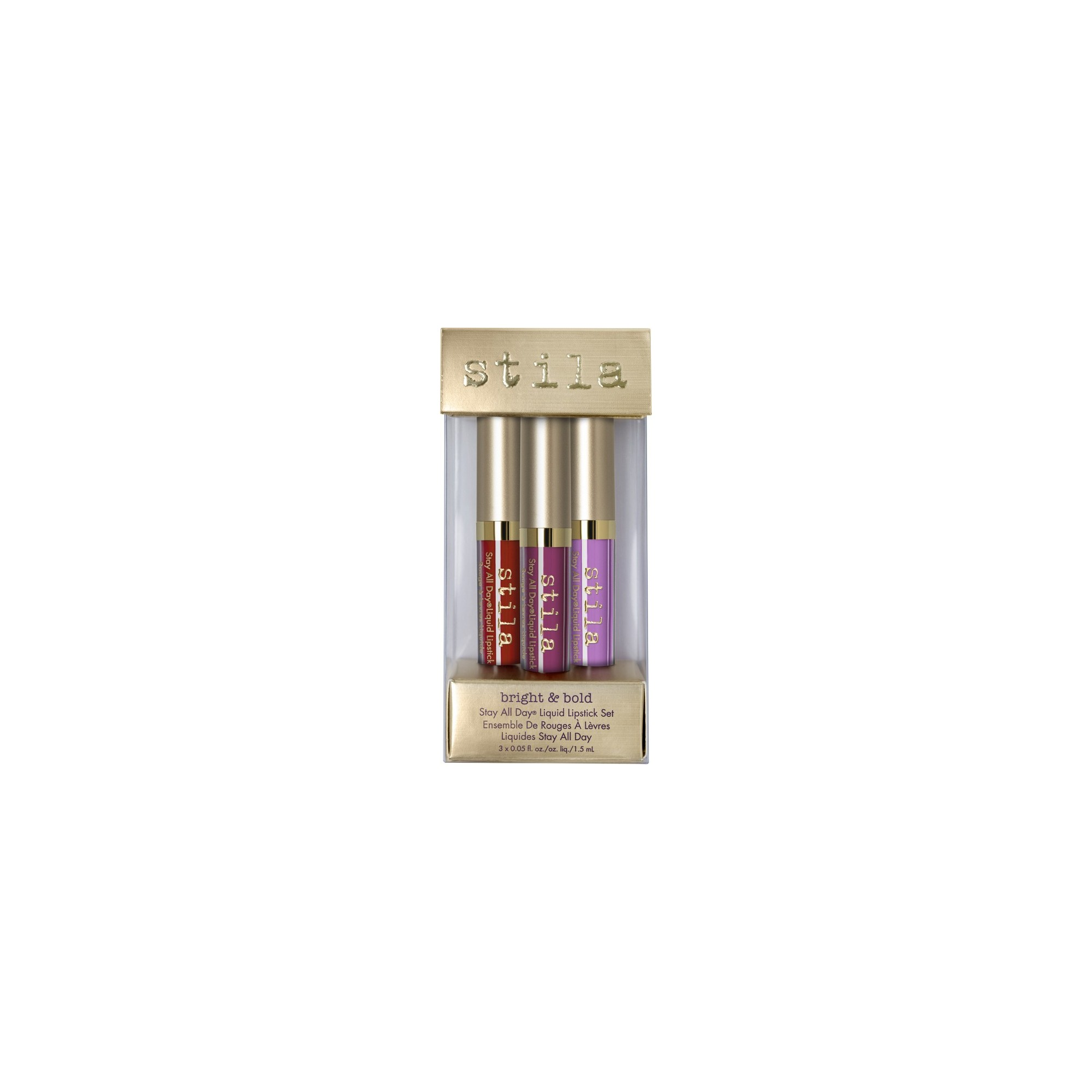 Stila Bright & Bold Stay All Day Liquid Lipstick Set