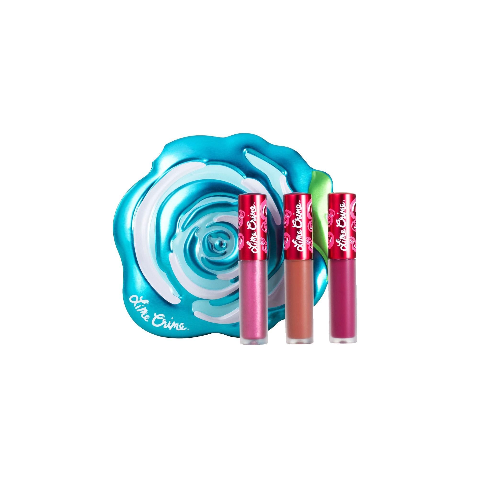 Lime Crime Blue Rose Velve-Tin Set