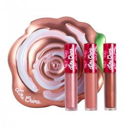 Lime Crime Champagne Rose Velve-Tin Set
