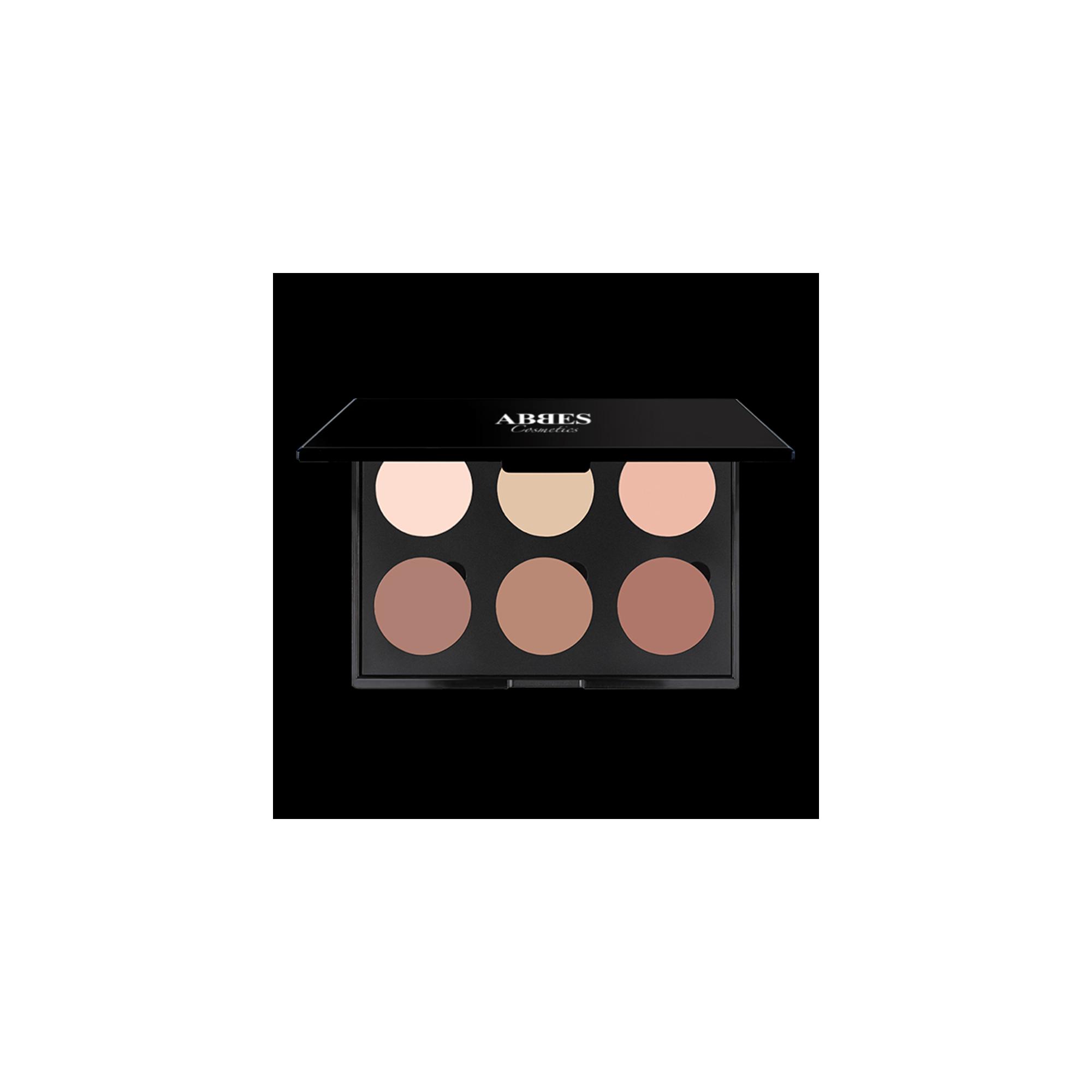 Abbes Cosmetics Contour Powder Palette Light