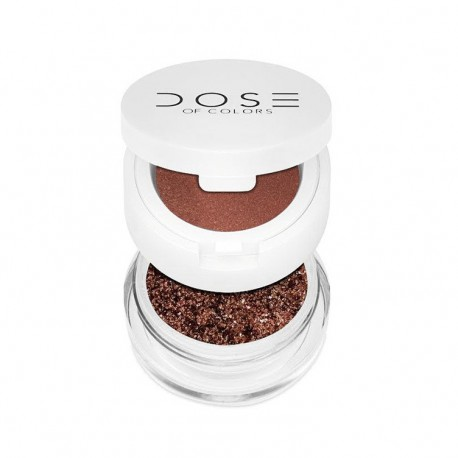 Dose Of Color Eyedeal Duo Loose Pigment And Primer Maple