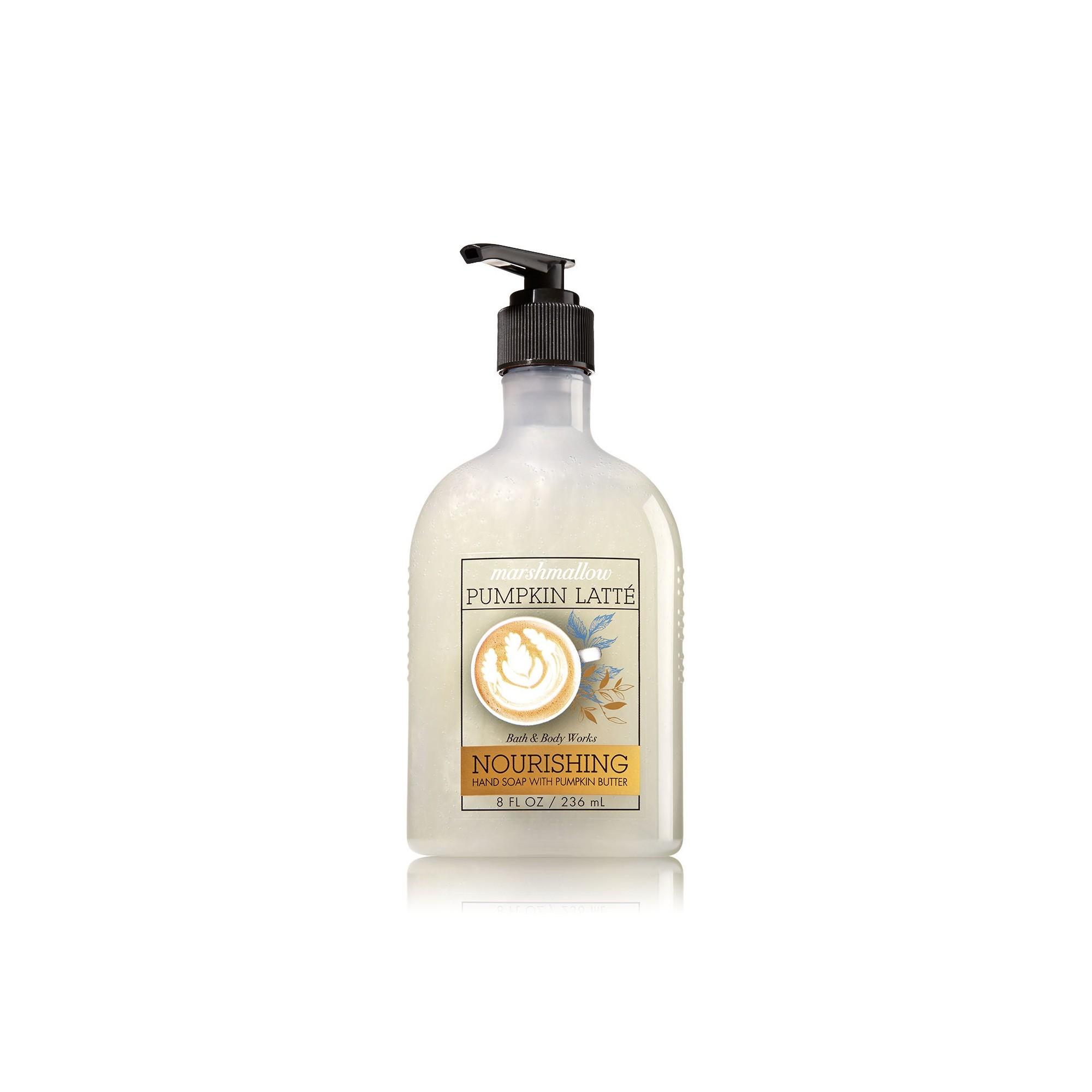 Bath & Body Works Marshmallow Pumpkin Latte Hand Soap with Pumpkin Butter