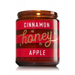 Bath & Body Works Cinnamon Honey Apple Scented Candle