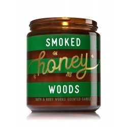 Bath & Body Works Smoked Honey Woods Scented Candle