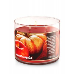 Bath & Body Works Pumpkin Apple 3 Wick Scented Candle