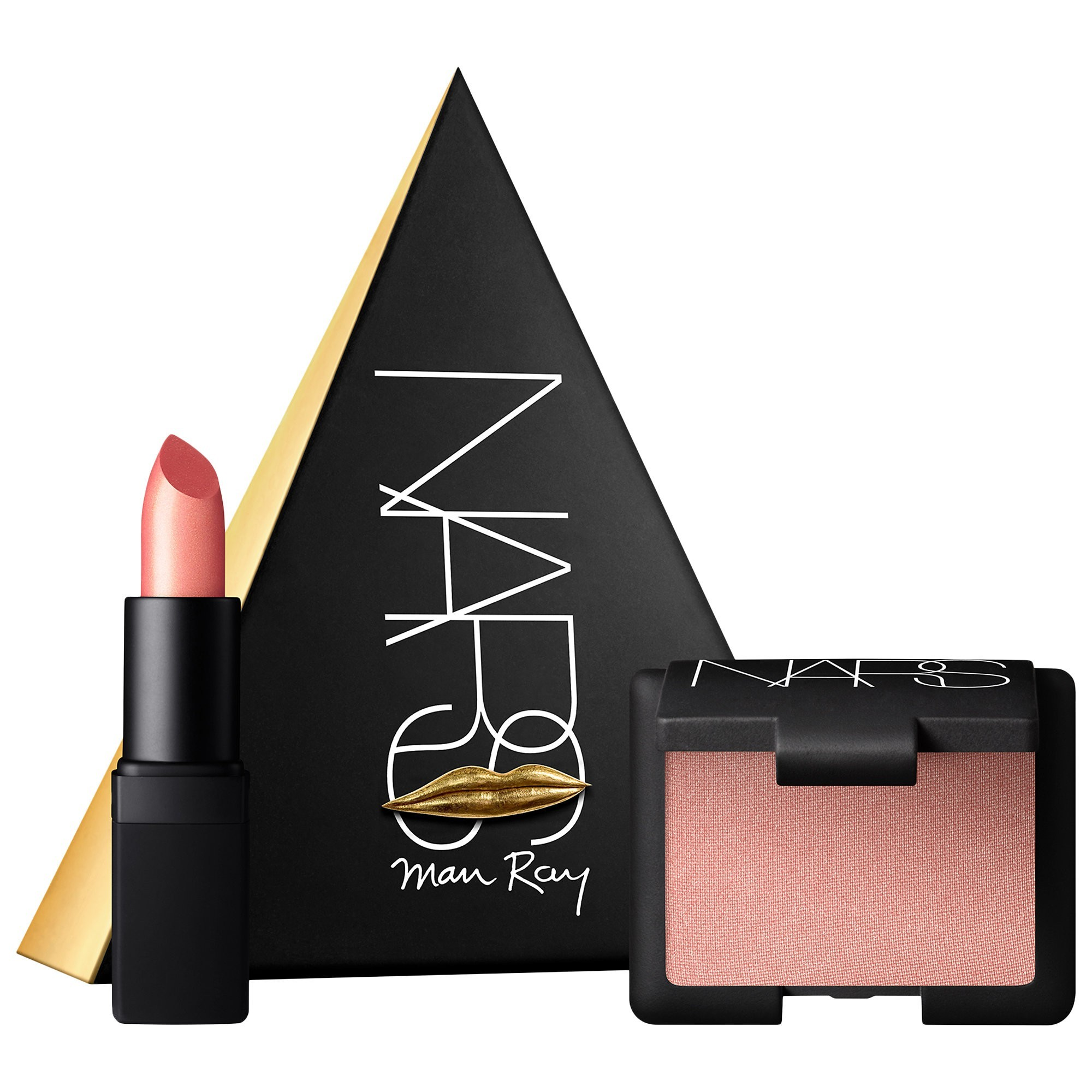 NARS x Man Ray Love Triangle Blush - Lipstick Set Orgasm