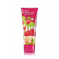 Bath & Body Works Sun-Ripened Raspberry Ultra Shea Body Cream