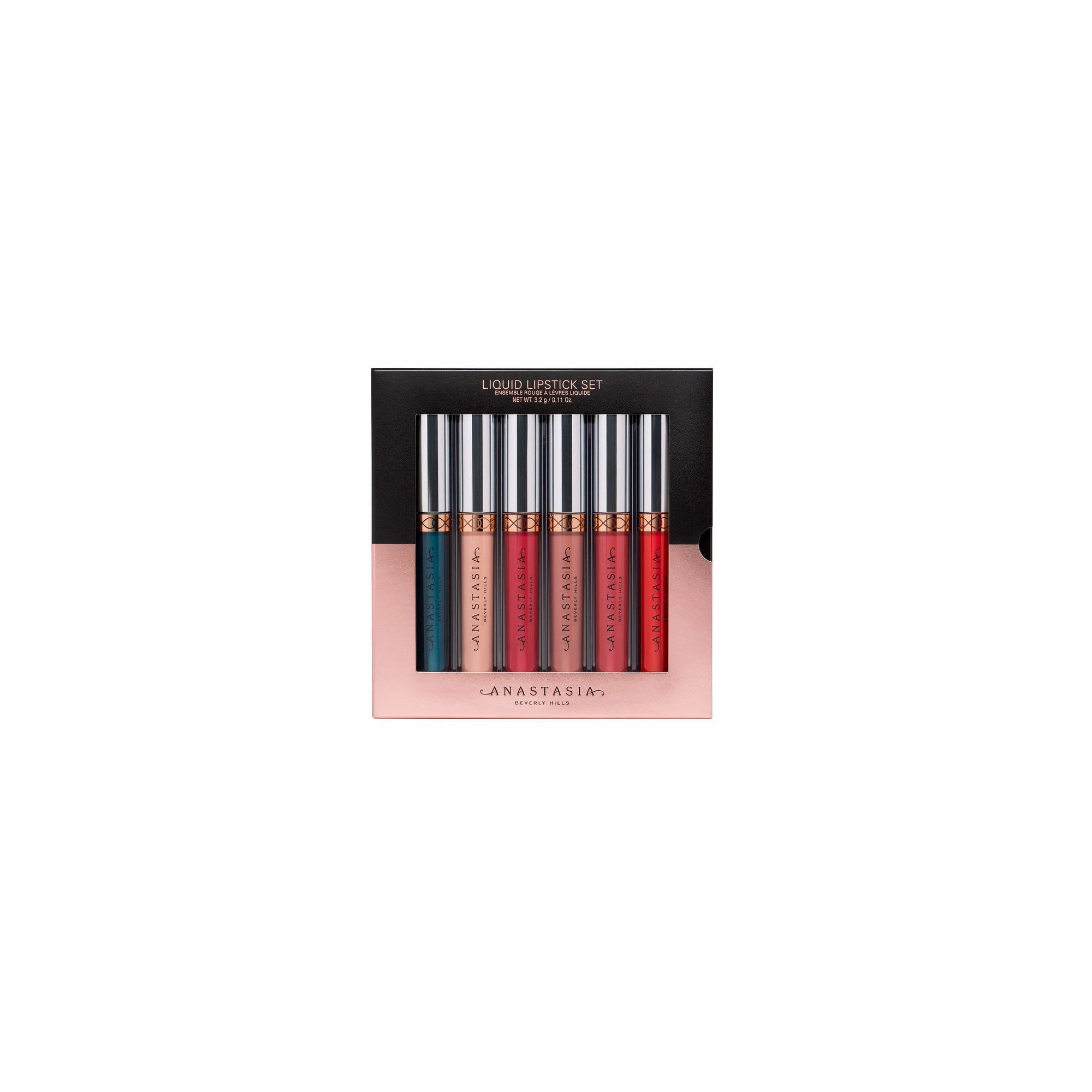 Anastasia Beverly Hills Liquid Lipstick 6 Pc Set Full Size