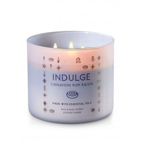 Bath & Body Works Cinnamon Rum Raisin 3 Wick Scented Candle