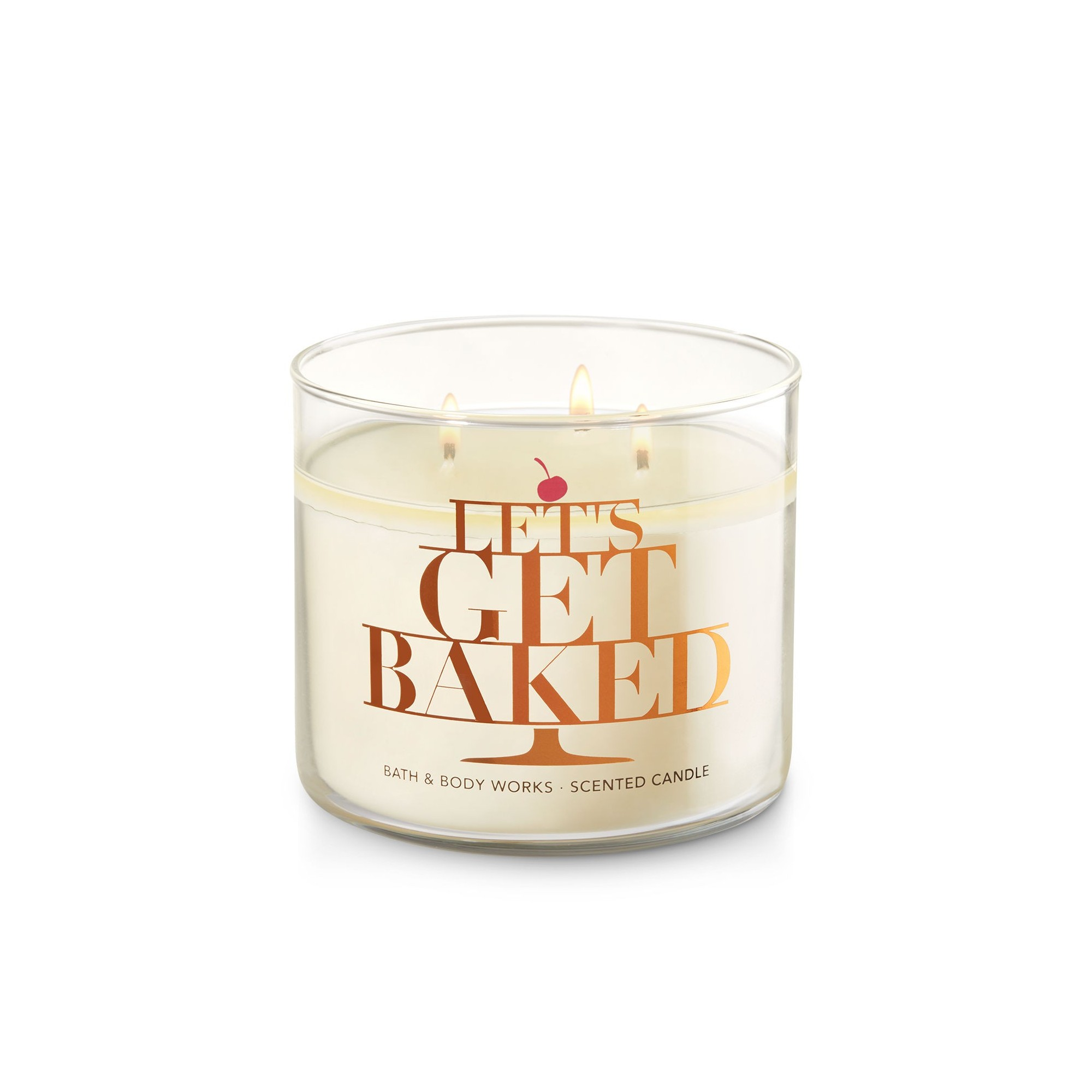 Bath & Body Works Creamy Nutmeg 3 Wick Scented Candle