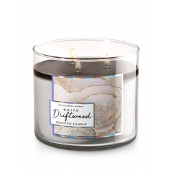 Bath & Body Works White Driftwood 3 Wick Scented Candle