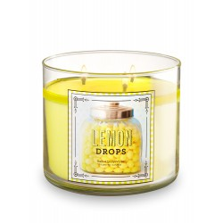 Bath & Body Works Lemon Drops 3 Wick Scented Candle