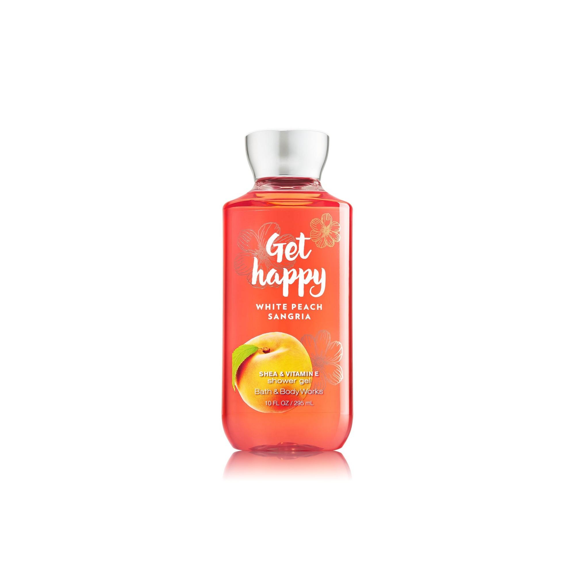 Bath & Body Works White Peach Sangria Shower Gel