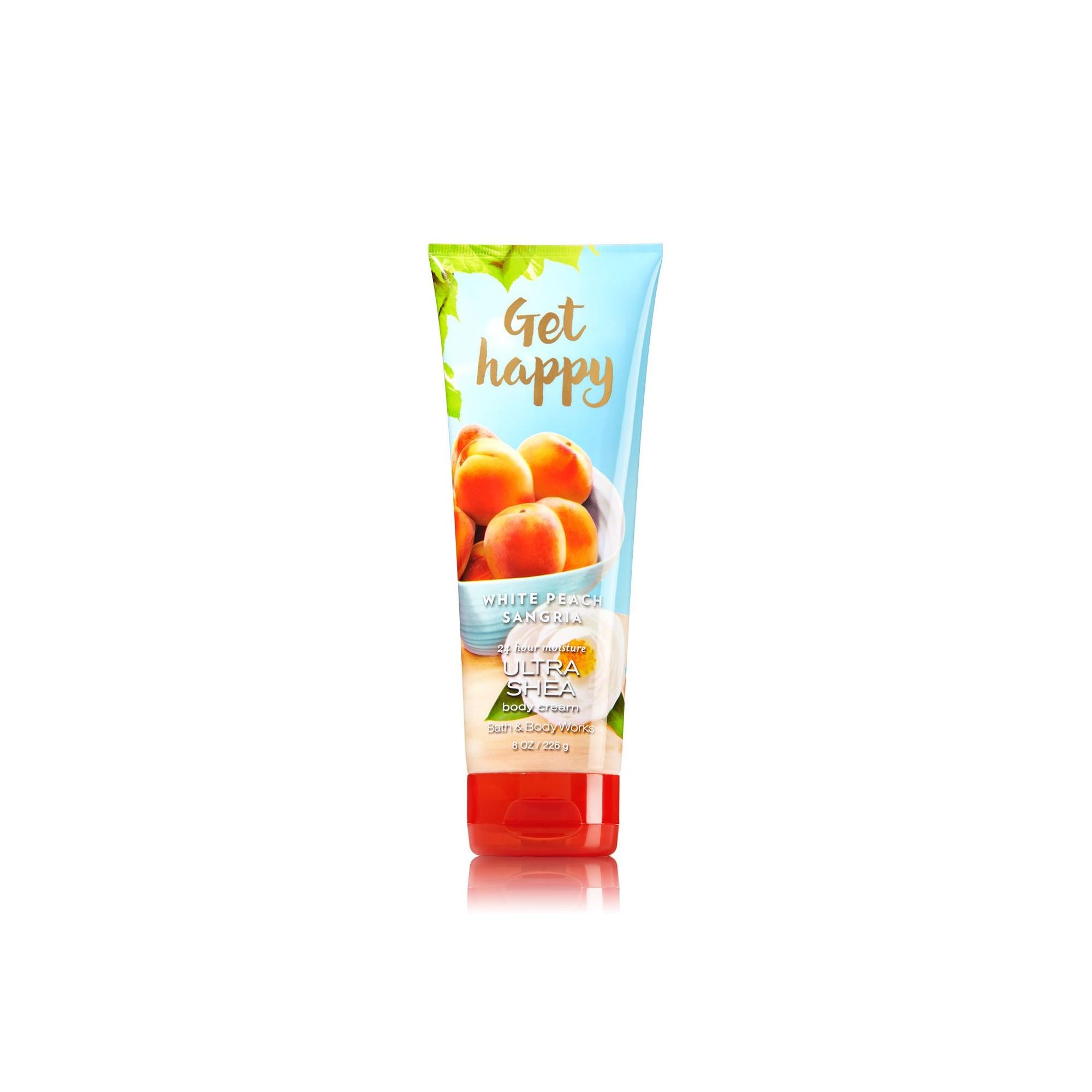 Bath & Body Works White Peach Sangria Ultra Shea Body Cream