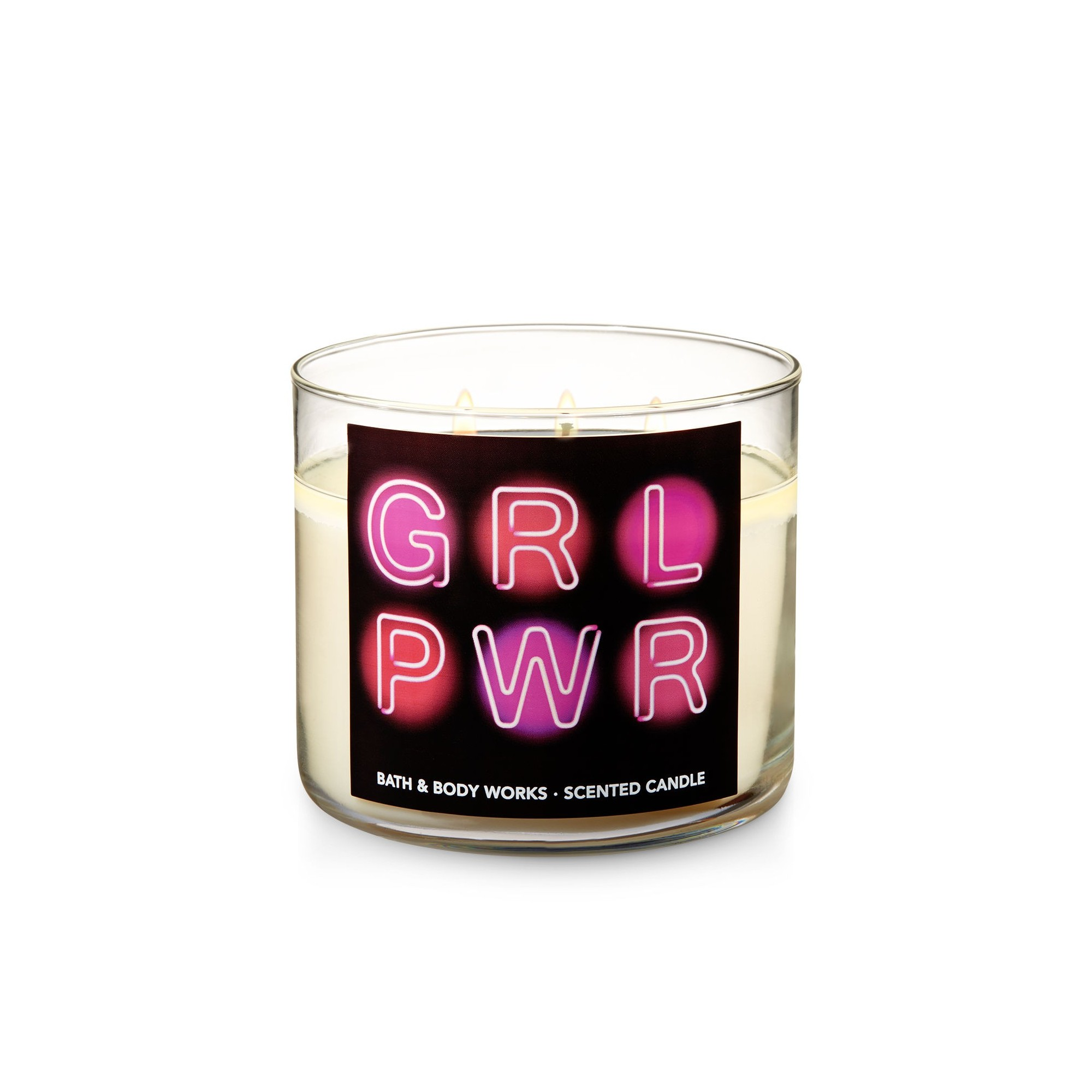 Bath & Body Works Strawberry Cupcake 3 Wick Scented Candle