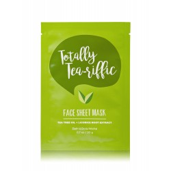 Bath & Body Works Totally Tea-Riffic Face Sheet Mask